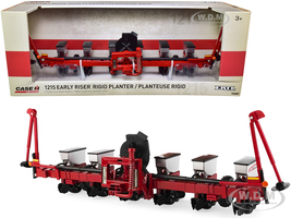 Case IH 1215 Early Riser Rigid Six Row Mounted Planter Case IH Agriculture 1/16 Diecast Model Ertl Tomy 14987