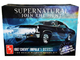 Skill 2 Model Kit 1967 Chevrolet Impala Sport Sedan Supernatural 2005 TV Series 1/25 Scale Model AMT AMT1124