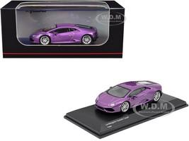 Lamborghini Huracan Coupe Purple Metallic 1/64 Diecast Model Car Kyosho KS07045AA2