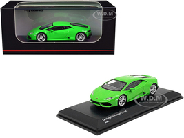 Lamborghini Huracan Coupe Bright Green 1/64 Diecast Model Car Kyosho KS07045AA3
