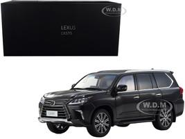 Lexus LX570 Starlight Black Metallic 1/18 Diecast Model Car Kyosho 08955 SBK