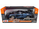 McLaren Senna Gray Metallic Black Timeless Legends 1/24 Diecast Model Car Motormax 79355