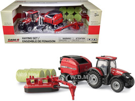 Case IH Haying Set of 4 pieces Case IH Agriculture 1/64 Diecast Models ERTL TOMY 44161
