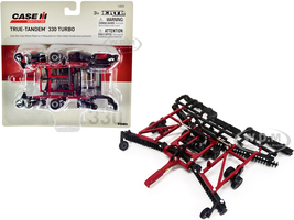 Case IH True-Tandem 330 Turbo Disc Harrow Folding Wings Red Case IH Agriculture 1/64 Diecast Model ERTL TOMY 14850