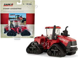 Case IH Steiger 620 Quadtrac Tractor Red Case IH Agriculture 1/64 Diecast Model ERTL TOMY 14908