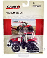Case IH Magnum 380 CVT Rowtrac Tractor Red Case IH Agriculture 1/64 Diecast Model ERTL TOMY 14936
