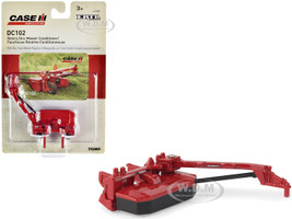 Case IH DC102 Rotary Disc Mower Conditioner Red Case IH Agriculture 1/64 Diecast Model ERTL TOMY 44080