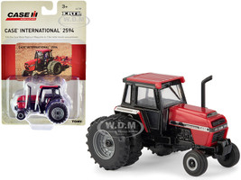 Case IH International 2594 Tractor Red Black Case IH Agriculture 1/64 Diecast Model ERTL TOMY 44138