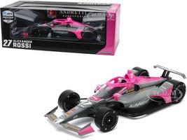 Dallara IndyCar #27 Alexander Rossi AutoNation Andretti Autosport NTT IndyCar Series 2020 1/18 Diecast Model Car Greenlight 11079