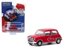 1967 Austin Mini Cooper S 1275 MkI Red The Italian Job 1969 Movie Hollywood Series Release 28 1/64 Diecast Model Car Greenlight 44880 B