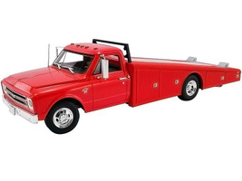 1967 Chevrolet C-30 Ramp Truck Red 1/18 Diecast Model Car ACME A1801702