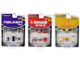 Shop Tool Accessories Series 3 Set of 3 Multipacks 1/64 Greenlight 16060