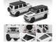 Mercedes Benz AMG G63 White Black Top 1st Special Edition 1/64 Diecast Model Car Era Car MB204X4RF24