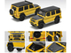 Mercedes Benz AMG G63 Yellow Black Top Carbon Hood 1/64 Diecast Model Car Era Car MB204X4RN24