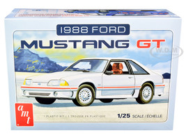 Skill 2 Model Kit 1988 Ford Mustang GT 1/25 Scale Model AMT AMT1216 M