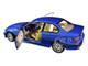1994 BMW E30 M3 Blue Estoril Metallic 1/18 Diecast Model Car Solido S1803901