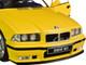 1994 BMW E30 M3 Jaune Dakar Yellow 1/18 Diecast Model Car Solido S1803902