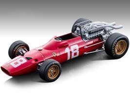 Ferrari 312F1-67 #18 Lorenzo Bandini Fordmula One F1 Monaco GP 1967 Mythos Series Limited Edition 190 pieces Worldwide 1/18 Model Car Tecnomodel TM18-120 A