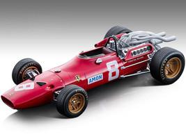 Ferrari 312F1-67 #8 Chris Amon Fordmula One F1 German GP 1967 Mythos Series Limited Edition 135 pieces Worldwide 1/18 Model Car Tecnomodel TM18-120 B