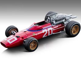 Ferrari 312F1-67 #20 Chris Amon Fordmula One F1 Monaco GP 1967 Mythos Series Limited Edition 115 pieces Worldwide 1/18 Model Car Tecnomodel TM18-120 D