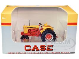 Case 930 Comfort King Narrow Front Tractor Yellow Orange 1/64 Diecast Model SpecCast ZJD1884