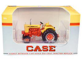Case 930 Comfort King Wide Front Tractor Yellow Orange 1/64 Diecast Model SpecCast ZJD1885