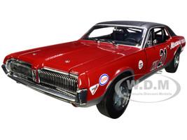 1967 Mercury Cougar Racing #21 Marty Beaulieu SVRA Watkins Glen Historic Enduro 200 2012 1/18 Diecast Model Car SunStar 1583