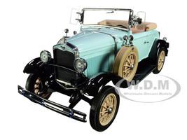 1931 Ford Model A Roadster Powder Blue 1/18 Diecast Model Car SunStar 6126