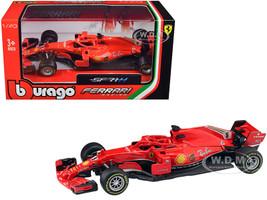 Ferrari Racing SF71H #5 Sebastian Vettel F1 Formula One Car 1/43 Diecast Model Car Bburago 36809