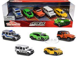 4x4 SUV Giftpack 5 piece Set 1/64 Diecast Model Cars Majorette 212053169