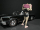 Skateboarder Figurine I for 1/24 Scale Models American Diorama 38340