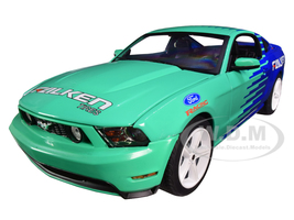 2010 Ford Mustang GT Falken Tires 1/18 Diecast Model Car Greenlight 13552