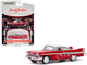 1958 Plymouth Fury Christine Red White Top Lot #2006 Barrett Jackson Scottsdale Edition Series 5 1/64 Diecast Model Car Greenlight 37200 B