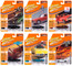 Muscle Cars USA 2020 Set B of 6 Cars Release 1 Limited Edition 2500 pieces Worldwide 1/64 Diecast Model Cars Johnny Lightning JLMC022 B