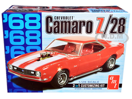 Skill 2 Model Kit 1968 Chevrolet Camaro Z/28 2 in 1 Kit 1/25 Scale Model AMT AMT868