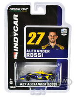 Dallara IndyCar #27 Alexander Rossi NAPA Auto Parts Andretti Autosport NTT IndyCar Series 2020 1/64 Diecast Model Car Greenlight 10863