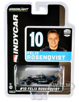 Dallara IndyCar #10 Felix Rosenqvist NTT Data Chip Ganassi Racing NTT IndyCar Series 2020 1/64 Diecast Model Car Greenlight 10867