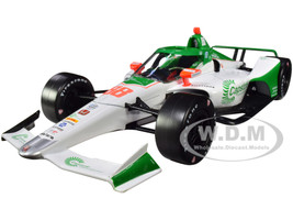 Dallara IndyCar #88 Colton Herta Capstone Turbine Corporation Andretti Harding Steinbrenner Autosport NTT IndyCar Series 2020 1/18 Diecast Model Car Greenlight 11083