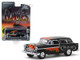 1955 Chevrolet Nomad Black Flames Flames The Series Hobby Exclusive 1/64 Diecast Model Car Greenlight 30117