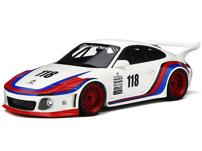 Porsche 997 Old & New Body Kit #118 Limited Edition 999 pieces Worldwide 1/18 Model Car GT Spirit GT796