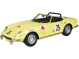 Ferrari 275 GTS/4 #25 The North American Racing Team NART Sebring 12H 1967 DISPLAY CASE Limited Edition 200 pieces Worldwide 1/18 Model Car BBR 1847