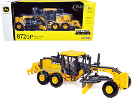John Deere 872GP Motor Grader Prestige Collection 1/50 Diecast Model ERTL TOMY 45049