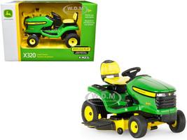 John Deere X320 Lawn Mower Green 1/16 Diecast Model ERTL TOMY 45484