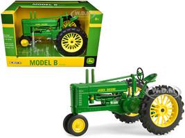 John Deere Early Styled Model B Tractor Green 1/16 Diecast Model ERTL TOMY 45506