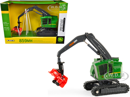 John Deere 859MH Tracked Harvester with Waratah Head Prestige Collection 1/50 Diecast Model ERTL TOMY 45518