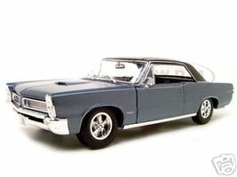 1965 Pontiac GTO Hurst Blue 1/18 Diecast Model Car Maisto 31885