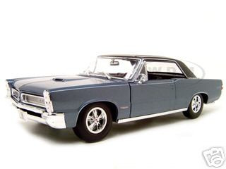 1965 Pontiac GTO Hurst Blue 1/18 Diecast Model Car Maisto 31885