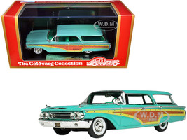1960 Mercury Country Cruiser Crystal Turquoise Limited Edition 215 pieces Worldwide 1/43 Model Car Goldvarg Collection GC-016 A
