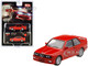 BMW M3 E30 Henna Red Limited Edition 2400 pieces Worldwide 1/64 Diecast Model Car True Scale Miniatures MGT00043