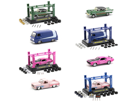 Model Kit 4 piece Car Set Release 31 1/64 Diecast Model Cars M2 Machines 37000-31
